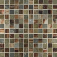 Glass Mosaic Tile - Slate Backsplash | Westside Tile and Stone