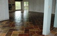Saltillo Tile in Living Room and Bedroom floors - Westside ...