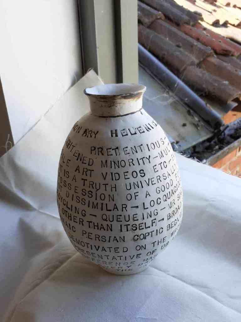 A poignant bottle