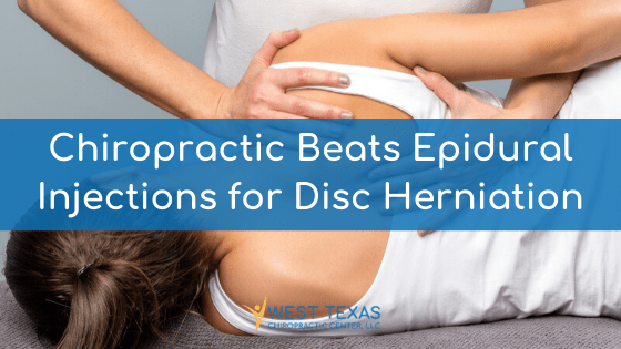 Chiropractic Beats Epidural Injections for Disc Herniation