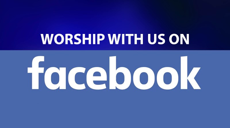 Watch Sunday service on Facebook