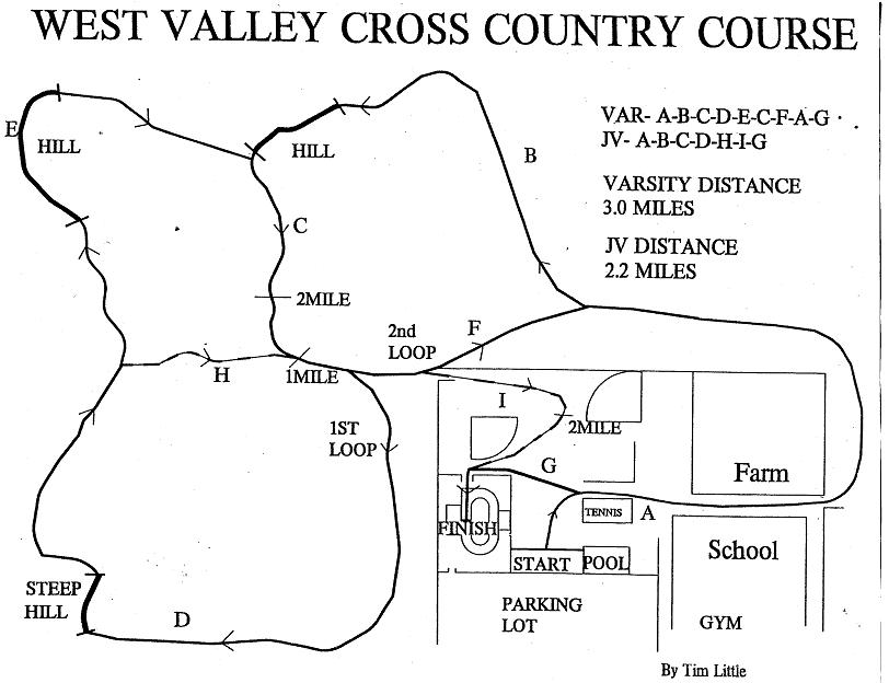 WEST VALLEY COED CROSS COUNTRY INVITE