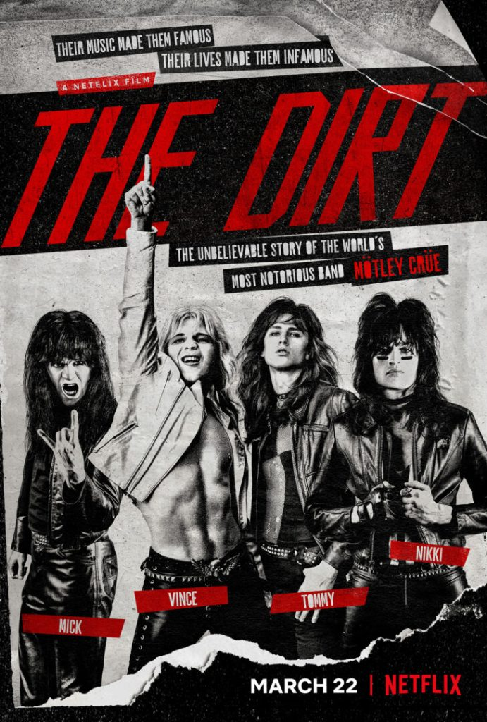 the dirt motley crue netflix locandina