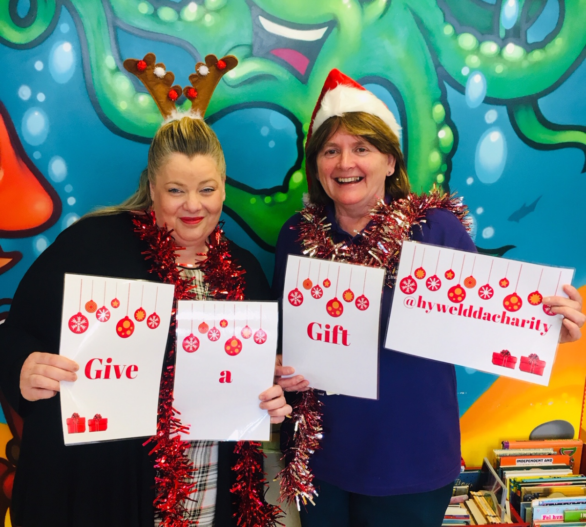 Christmas Gift Appeal: GIVE A GIFT CHRISTMAS APPEAL