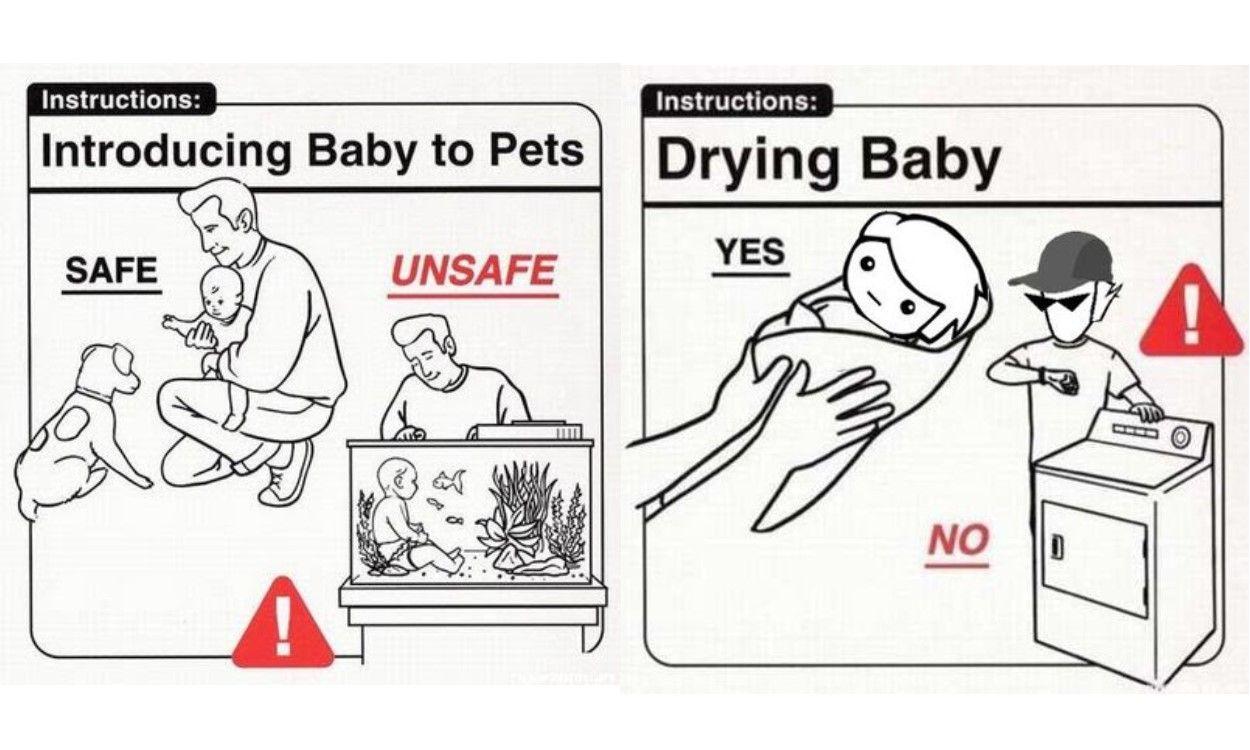 Have you Seen this Funny Safe Baby Handling Tips Book?