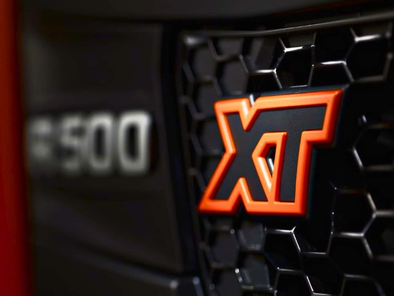 Scania XT Grille badge