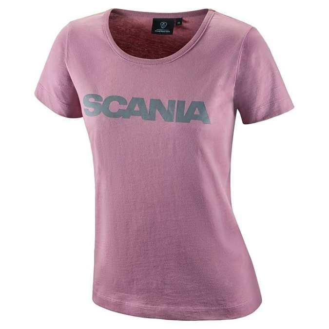 womens scania vintage pink tshirt