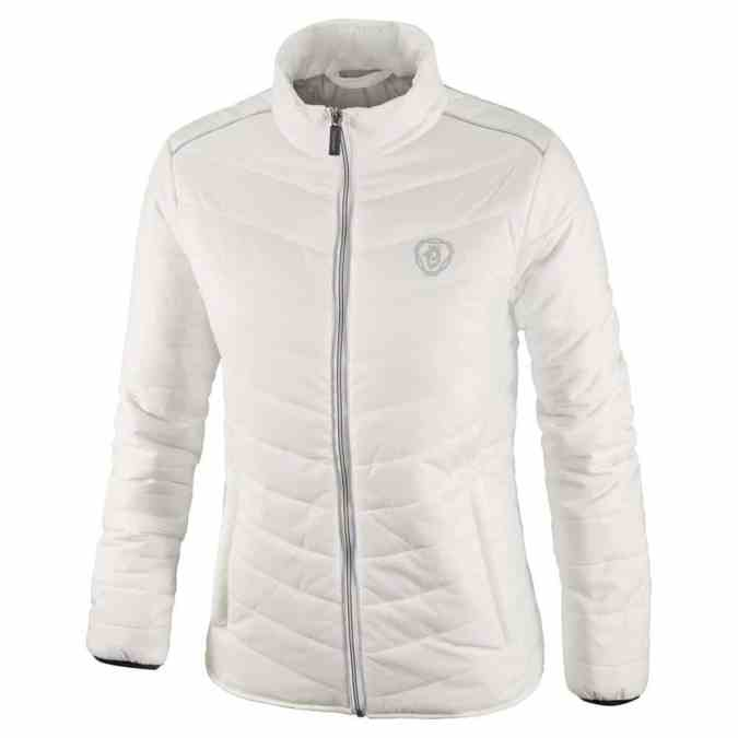 Scania ladies white insulation jacket