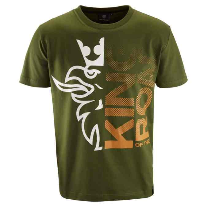 Scania Mens king of the road green tshirt