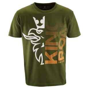 Scania Mens king of the road green tshirt