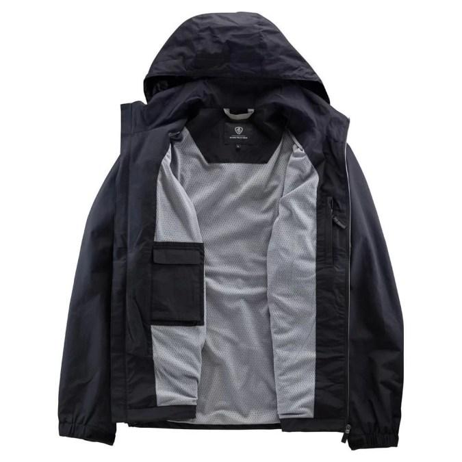 light scania jacket inside