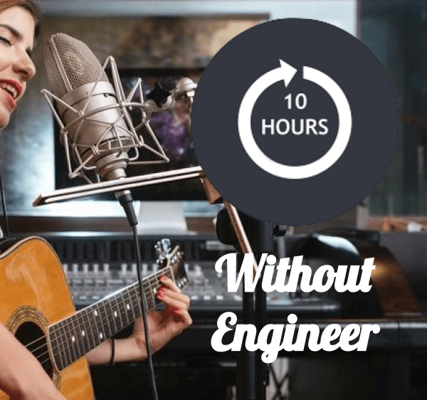 recording without engineer 10 hours