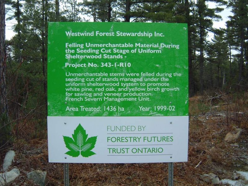ForestryFutures FFT343 Sign