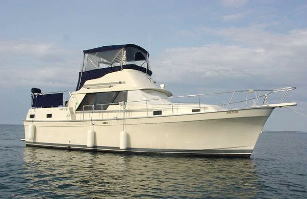 1988 Mainship 36 Nantucket Aft Cabin Westwind Yacht Sales Brokerage Listing