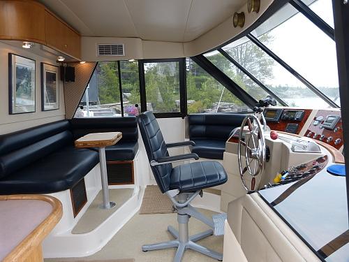 Westwind Yacht Sales 1997 Bayliner 4788 Pilothouse My