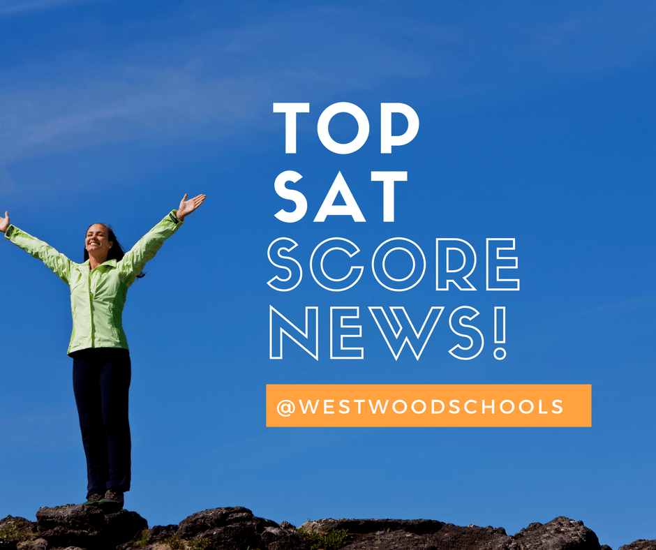Westwood Schools has top SAT scores in region