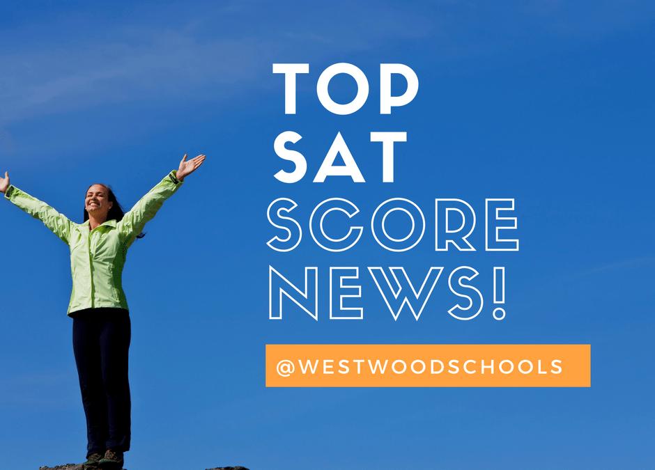 Westwood SAT Scores Highest in Region
