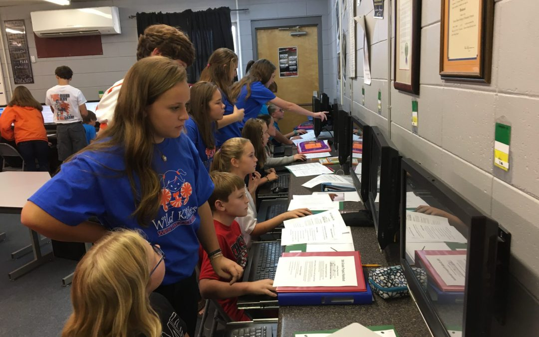 "Westwood Students Celebrate the ""Hour of Code"""
