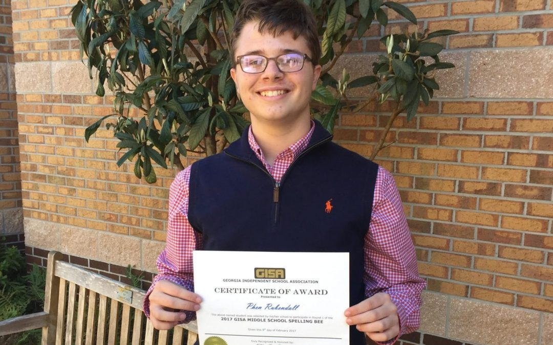 Westwood Participates in GISA Middle School Spelling Bee