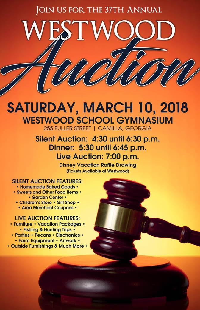 GP Auction Flyer Westwood Schools