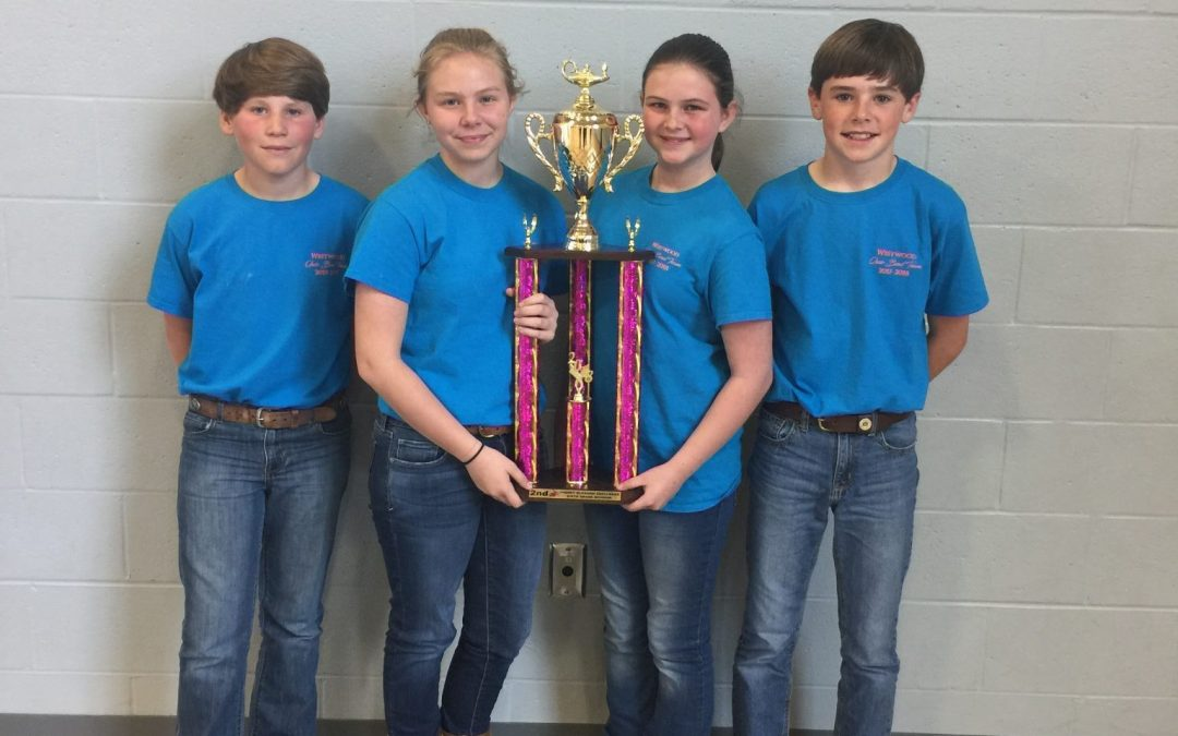Quiz Bowl Wins 2nd Place at Cherry Blossom Challenge
