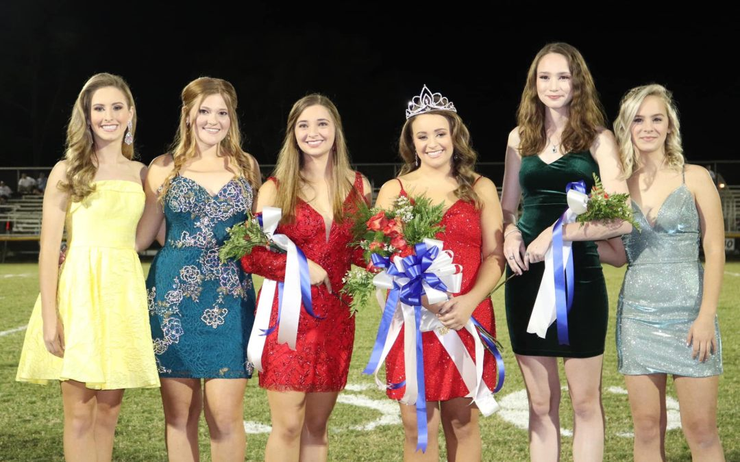 Aly Godwin Crowned Homecoming Queen