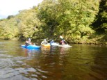 River Wharfe (Lower), 14th Oct 2012