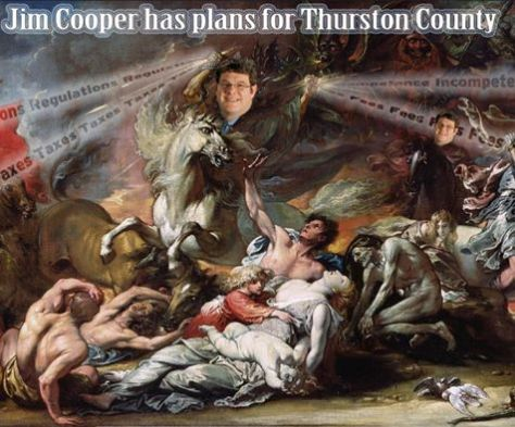 Jim Cooper has Big Plans for Thurston County