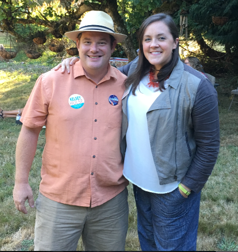 Commissioner candidates Jim Cooper and Kelsey Hulse are hoping Thurston County can pass more taxes on rural residents