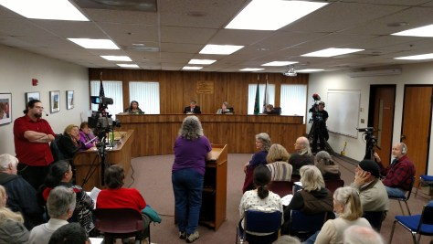 Thurston County Commissioners ignore citizens