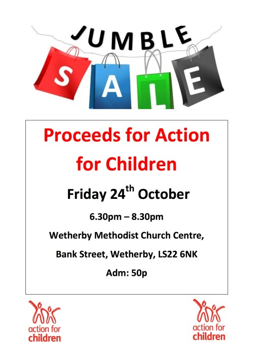 Action for children Jumble