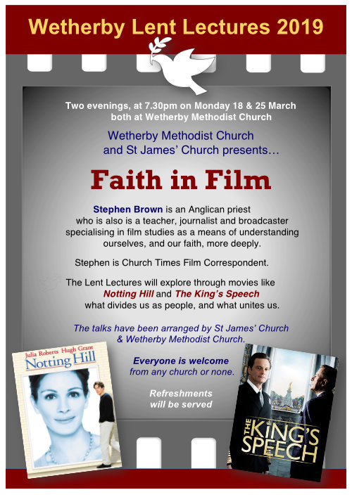 Lent Lectures Poster