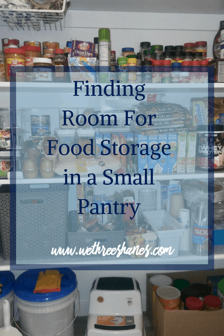 Finding Room For Food Storage in a Small Pantry