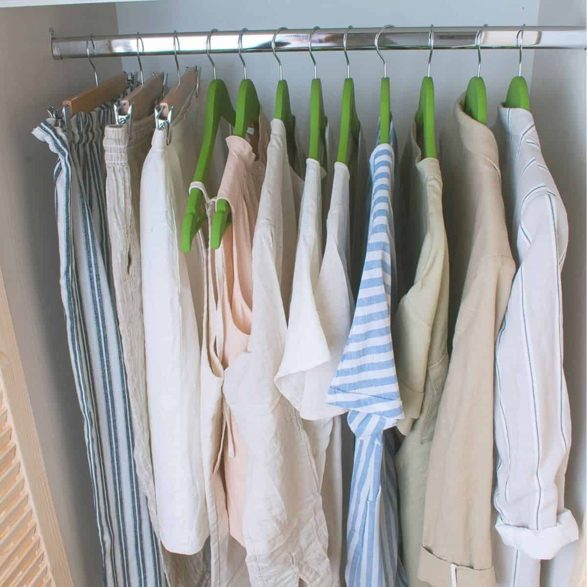 How I Cut My Wardrobe In Half and Why You Should Too