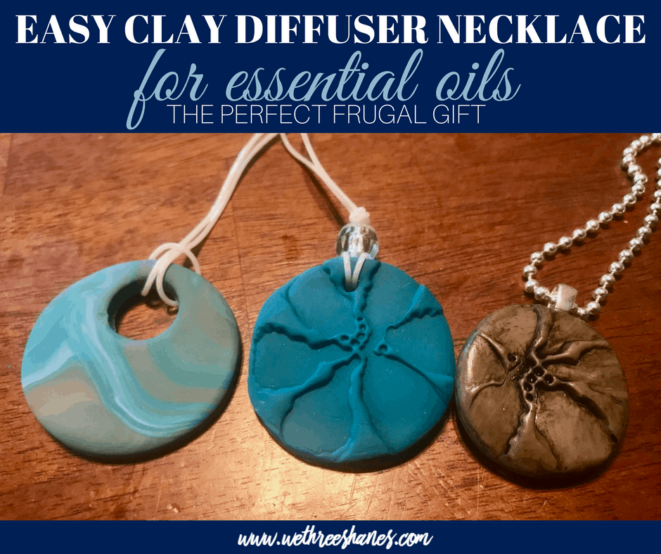 DIY Clay Diffuser Necklace for Essential Oils