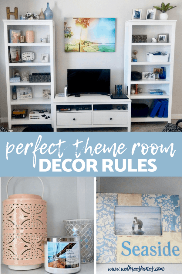 Theme rooms can be a lot of fun but when done poorly they can come across as campy and overdone. A stylish motif can add charm and a personal touch to any room. Decorating around a central theme of choice is simple when you follow these 5 rules. Soon you'll have the chic and subtle theme room of your dreams. | We Three Shanes