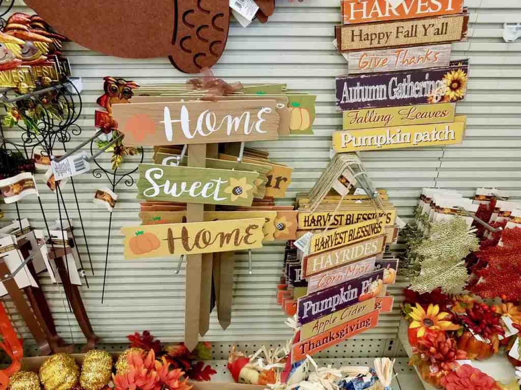Fill your home with lovely decor this Fall, with a trip to the Dollar Tree. Today I'm sharing the Best Dollar Store Fall Decor finds to help you save money this season. | We Three Shanes