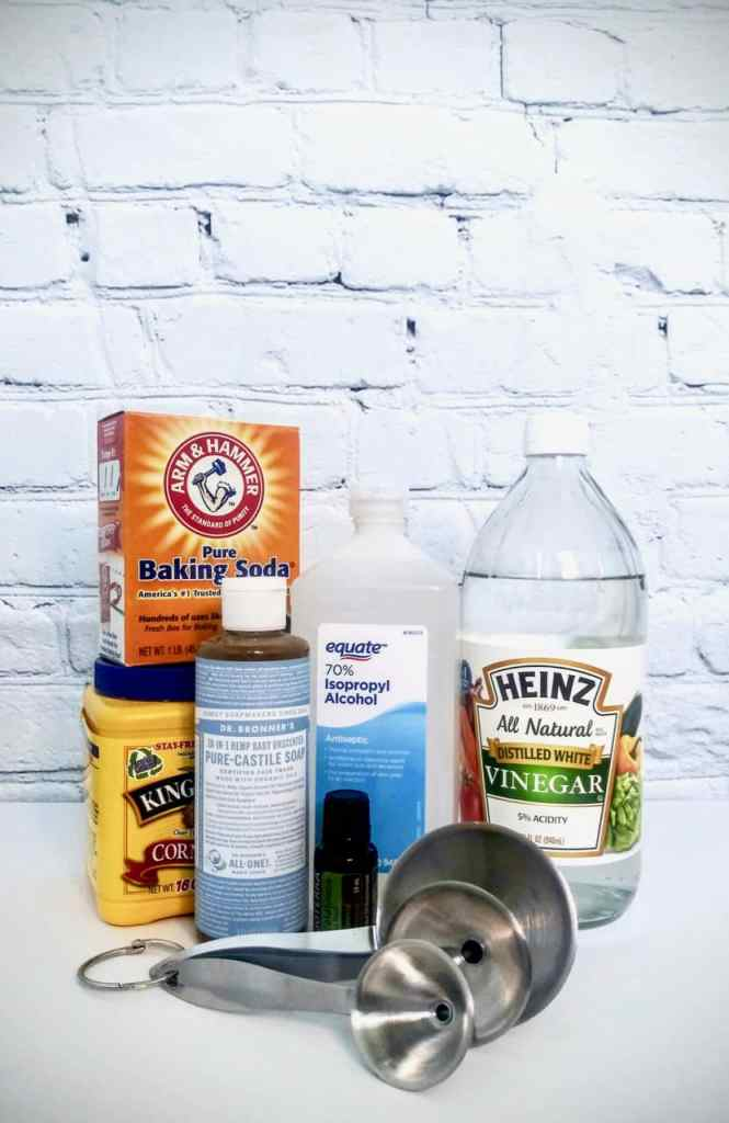 Want to ditch the chemicals found in commercial cleaners and save some cash? Check out how easy it is to make natural cleaning products using eco-friendly items you most likely have at home. Save some green while going green!| We Three Shanes