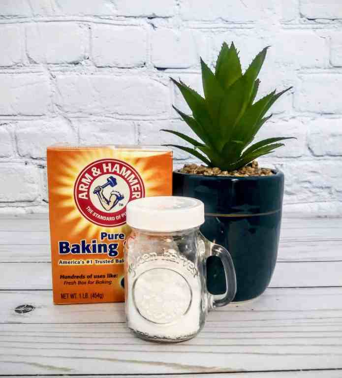 Put baking soda in a shaker so it's easier to use when Cleaning. | We Three Shanes
