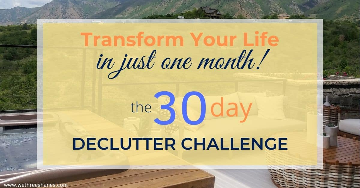 Minimalize Your Life in 30 Days