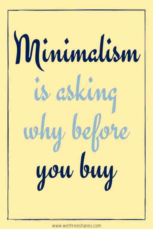 These 40 Decluttering & Minimalism Quotes are the perfect inspiration you need to get a jump start on the simple life you crave! | We Three Shanes