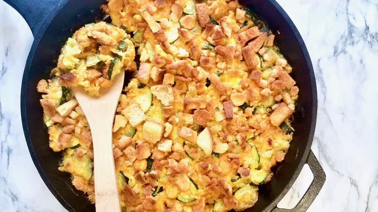 The Best Zucchini Casserole Recipe