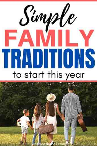 Start some new family traditions this year and create childhood memories that will last a lifetime. | We Three Shanes