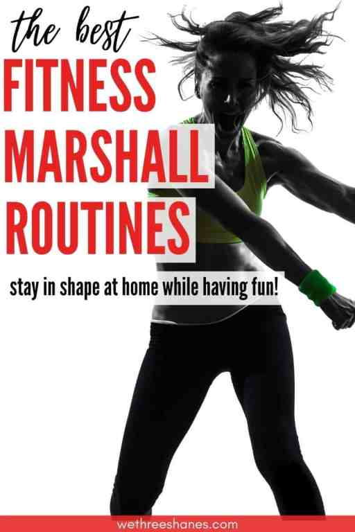Get a great workout at home with this list of the newest and best Fitness Marshall routines on YouTube. | We Three Shanes