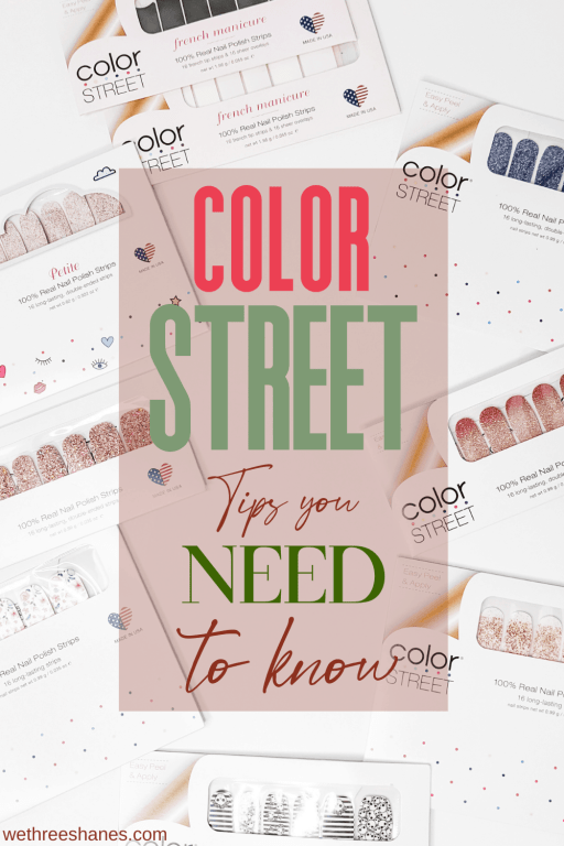 The best Color Street tips and tricks you need to know to keep your nails healthy and Color Street lasting longer than ever. | We Three Shanes