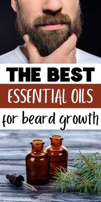 Learn about the best essential oils for beards and why they work so well. Then customize your own homemade beard oil based on your needs. | We Three Shanes