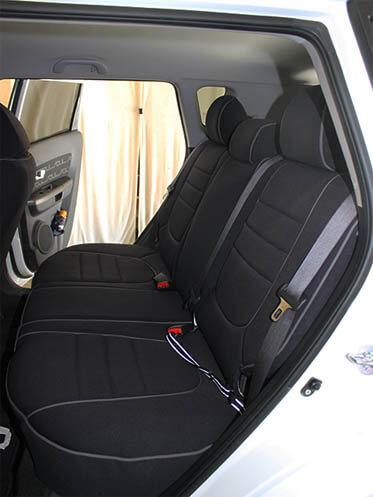 Kia Soul Full Piping Seat Covers Rear Seats Wet Okole