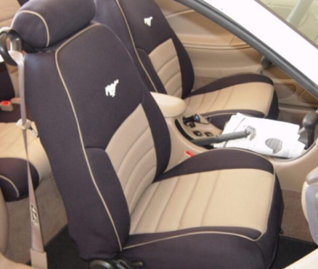Ford Mustang Half Piping Seat Covers