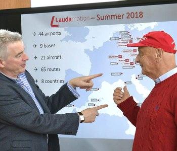 Niki Lauda e Davis O'Leary
