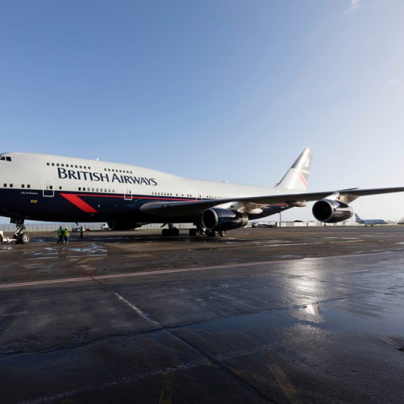 British Airways New Livery. Photo Chris Bellew /Fennell Photography Copyright 2019